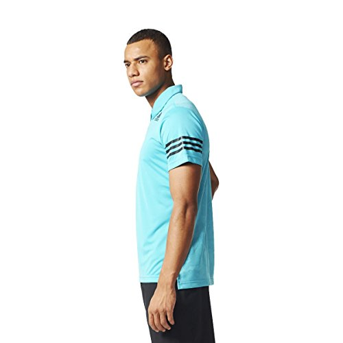 Adidas ClimaCool Polo Tennis, Herren Blau-(Azuene)