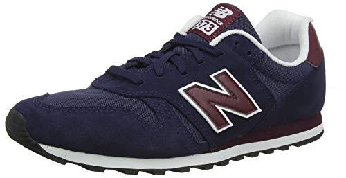 New Balance 373, Zapatillas para Hombre, Azul (Pigment/Burgundy Bup), 40.5 EU