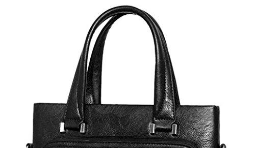 Borsa A Tracolla Moda Uomo D'affari Valigetta Bag Man Borsa Diagonale Messenger Bag Maschile Borsa Degli Uomini Brown