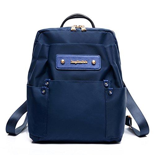 Street fashion zaino Vento Collegio/borsa a tracolla di stoffa impermeabile di Oxford/Borsa grande capacità-D C