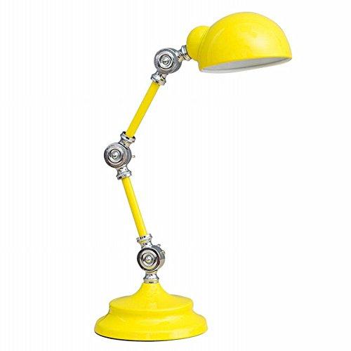 MJL Nordic Kreative LED-Stecker Kleine Schreibtischlampe Auge Schreibtisch College-Schlafsaal Schlafsaal Schlafzimmer Nachttischlampe Lesen,B,46 cm