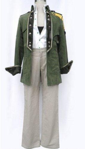 13 Bobby Sands Halloween-Abendkleid Cosplay Costume,Maßgeschneiderte,Größe XXL: Höhe 175cm-185cm (Final Fantasy 13 Halloween)