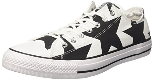 Converse Ctas Ox, Sneaker a Collo Basso Unisex – Adulto Multicolore (White/Black/White)