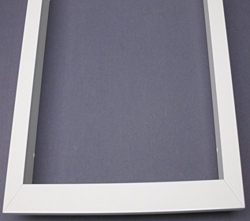 Montageset Einbaurahmen – weiß – 60×60 - 6