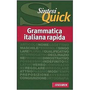 Grammatica italiana rapida