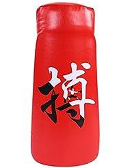 Almohadillasde Taekwondo,Target Pad Almohadillas de Boxeo de Esponja Suave de PU para Boxeo Karate Artes Marciales Taekwondo Kick Punzón de Entrenamiento para Adultos(Rojo)