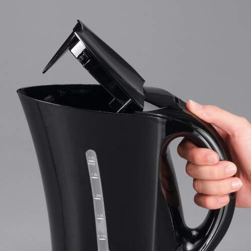 Severin WK 3485  Wasserkocher, schwarz / 1,7 Liter Inhalt / 2200 W - 4