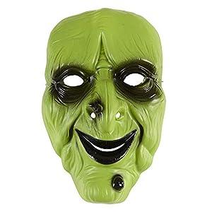 WIDMANN - Máscara bruja verde