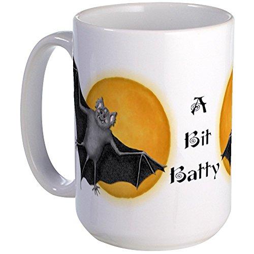 n Vampire Bat Large Mug - Coffee Mug, Large 15 oz. White Coffee Cup by CafePress ()
