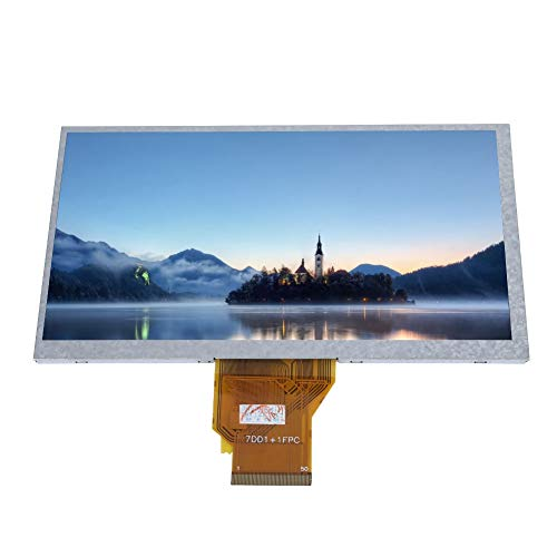 Mugast LCD Display,Monitor LCD Touch Screen 7oll,Display LCD Touch Screen  HD Risoluzione 800 * 480,Schermo Touch Screen resistivo LCD con