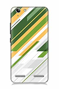 FABCASE Premium abstract multiple various pattern stylish unique vibrant amazing design Printed Hard Plastic Back Case Cover for Lenovo Vibe K5