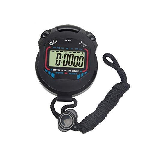 lujiaoshout Handheld Digital Multi-Funzione Professionale elettronici cronografo Sportivo cronometro Timer Impermeabile Stop Watch