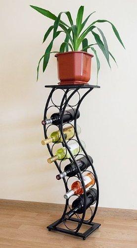 Blumensäule Weinregal Elegance 80cm Flaschenständer 10108 Flaschenhalter Blumenständer