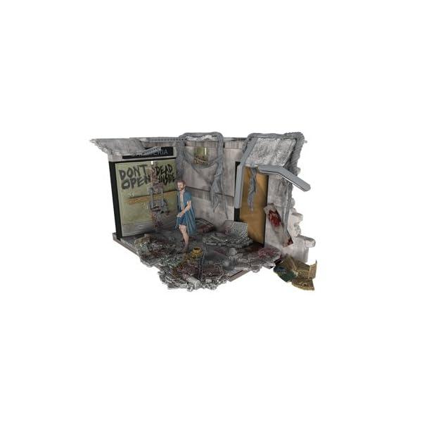 McFarlane- Puzles The Walking Dead Set de Construcci&oacuten Puertas Hospital, Multicolor, Ninguna (MC Farlane 14524-3) 1