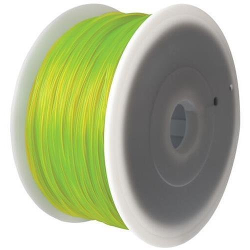 FlashForge ABS Yellow Filament 1.75mm / 2.2 lb (1KG) for Creator Series (Pro, X, Wood) 3D Printers by FlashForge