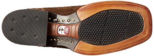 Nocona Frida Hommes Large Cuir Santiags Brown Hippo