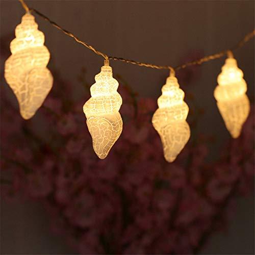 Shell Trompete Usb Typ Led Lampe String Licht Weihnachten Urlaub Hochzeit Party Festival Dekoration Beleuchtung Warmweiß 2 Mt (5 Stücke) Shell Usb
