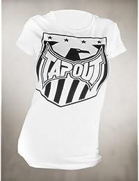 Tapout Damen T-Shirt Shield MMA weiß