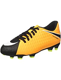 Nike Unisex Kids' Hypervenom Phade III FG Football Boots