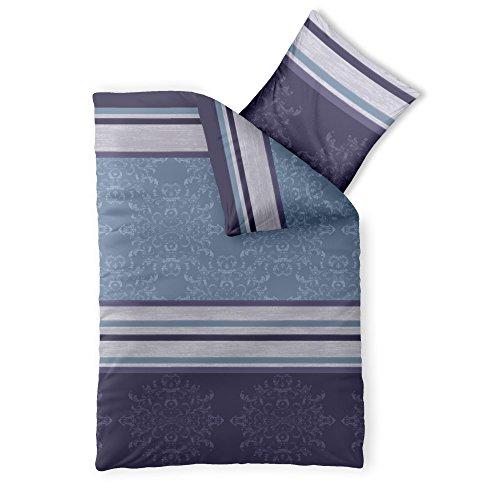 Bettwäsche Baumwolle 155x220 CelinaTex 0002657 Fashion Nicole blau lila