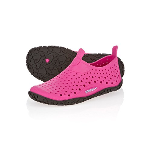 Speedo - JELLY IF Purple/Pink, Sandali da unisex bambino Rosa(Pink (pink/schwarz))