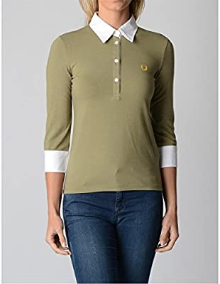 Fred Perry Fred Perry Womens Polo 31032190 7010 VERDE