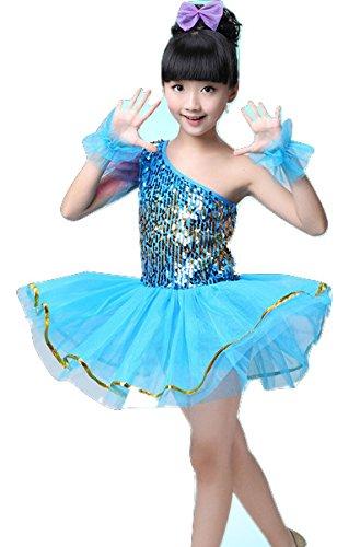 Dance Kostüme Ballett Kleider Röcke Dancewear Kinder Mädchen Kids 3–15Jahre, (Ballett Dance Kostüme)