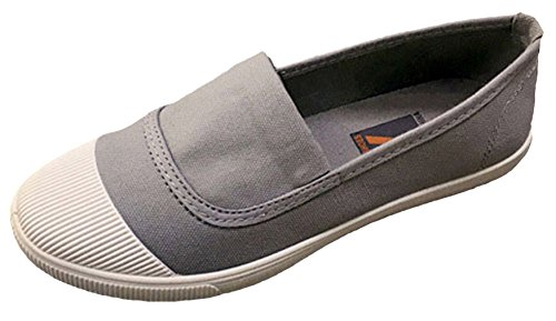 EOZY Chaussure Femme Casual Toile Tai Chi Chuan Style Chinois Classique Gris
