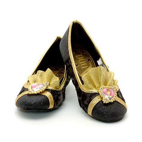 10 Größe Kostüm Disney Anna - Disney, tiefgekühlt - Anna Deluxe Kostüm Schuhe - Girls Größe UK 9 - 10 / EU 27 bis 28