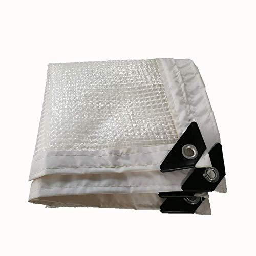T-SMANET Außenverdickung Durchsichtige Kantenkante Perforierte Wasserdicht Und Sonnenschutzplanen...