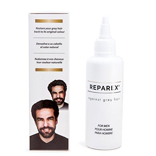 Gray Hair formula naturale per capelli color ripristino by Reparex per gli  uomini. Meglio di 447973b80db1