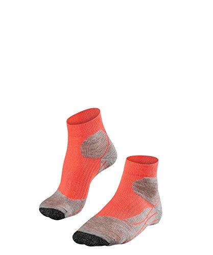 Top Socken (FALKE Damen Socken TE2 Short Light Hibiskus, 37-38)