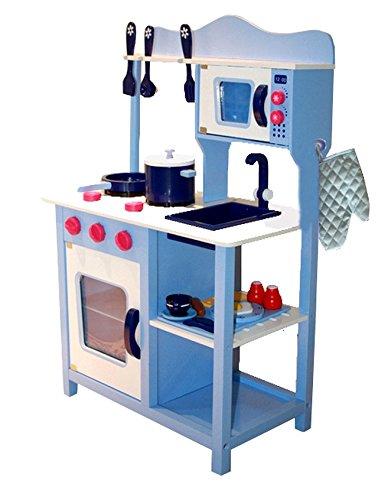 Kinderküche Aga4Kids NATALIE, Küchenspielzeug,Spielküche,Küche mit Zubehör, Spielzeugküche, Holzspielküche,Kinderspielküche