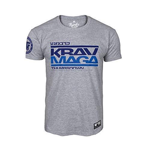 f2671c3fd Thumbs Down Krav MAGA T-Shirt. Israel Combat System. MMA. Kampfkünste.