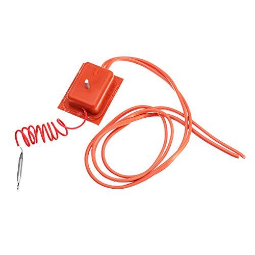 Descripción: 16A todo uso mecánico dial regulador del termostato caja Características del artículo: Voltaje: 250V Corriente: 16A Potencia: 5000W Temperatura de funcionamiento: 30-150 DEG C Cables de alimentación: 1 metro Funciones: > Calentadores...