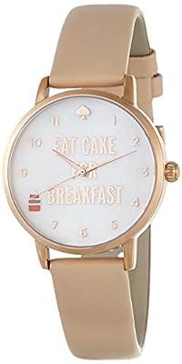 Kate Spade 1YRU0892 Ladies Metro Vachetta Leather Strap Watch