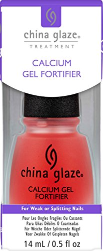 China Glaze Calcium Gel Fortifier, 1er Pack (1 x 14 ml) -