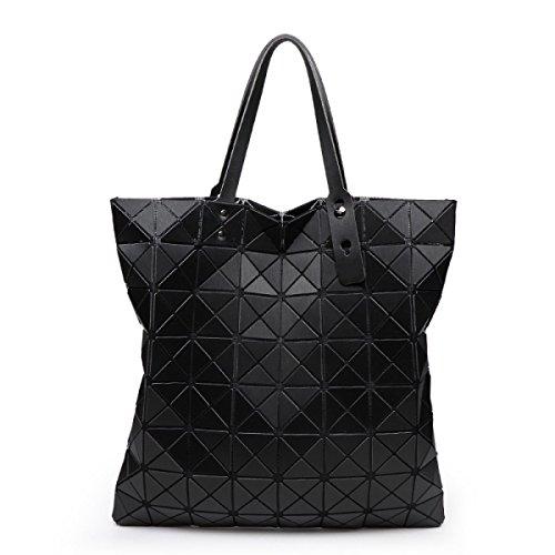 Damen Nashörner Handtasche Mode Persönlichkeit Gezeiten Lässig Damen Schulterbeutel Farbe Draußen Einfach Luxus Gehobene Tasche Black