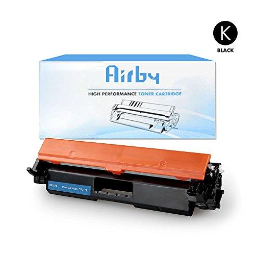Airby174; Kompatibel Toner ersetzt HP CF217A 17A für HP LaserJet Pro M102w LaserJet Pro MFP M130fn M130fw M130nw M130a (Neuer kompatible Chip enthalten)