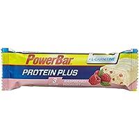PowerBar Protein Riegel mit 200mg L-Carnitin – Eiweiß-Riegel, Fitness-Riegel mit Magnesium, Calcium und hochwertigem L-Carnitin von Carnipure – 30 x 35g Raspberry-Yoghurt