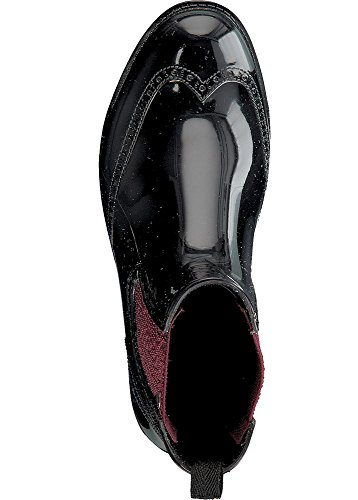 GOSCH SHOESGosch Shoes Sylt Damen Chelsea 7100-501 - Stivali di gomma Donna black-bordeaux