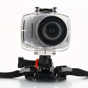 Caméra Action Sports Vidéo Full HD 1080p   SportsCam étanche avec télécommande par Panda exprès (avec 4 Go Android carte mémoire)