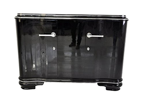 Art Deco Sideboard (OAM Französisches Art Deco Sideboard mit Flügeltüren)