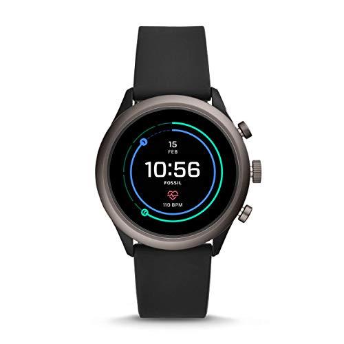 Fossil Sport FTW4019 - Reloj Inteligente Unisex (Silicona), Color Negro