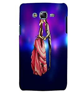 Citydreamz Boy and Girl/Cute Couple/Love/Valentine Hard Polycarbonate Designer Back Case Cover For Samsung Galaxy A7