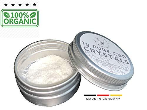 CBD Isolat: 100{04fa080e0c8e7a225eb5b2ddc50925a4992ce2712175e07f1c89a0aab43e960b} Organic V! Isolat Pulver (1000mg) CBD für e-Liquids   Öle   Kosmetik