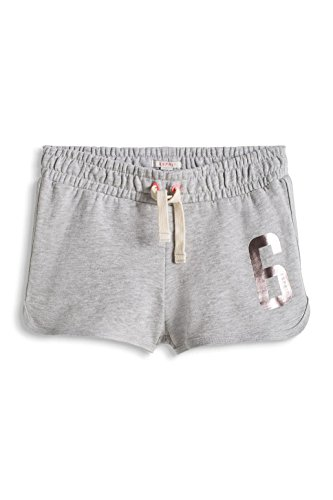 ESPRIT Knit Shorts-Shorts Bambina    Grau (MEDIUM GREY 035) 12 anni