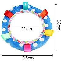 Preisvergleich für Baby-lustiges Spielzeug Entzückende Baby-Rückspiegel-Säuglings-Sicherheits-verzerrende Spiegel-Spaziergänger-Auto-Sitz-Spiegel-Blau