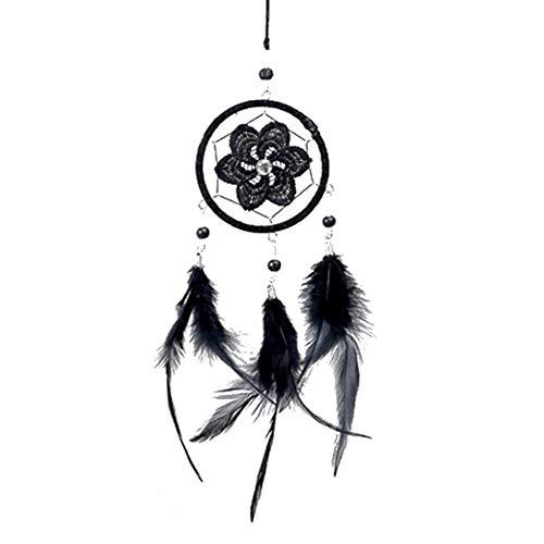 Fancylande Attrape Rêves, Capteur de Rêves Indien Capteur de Rêves Dreamcatcher avec Décoration à Suspendre Craft Cadeau
