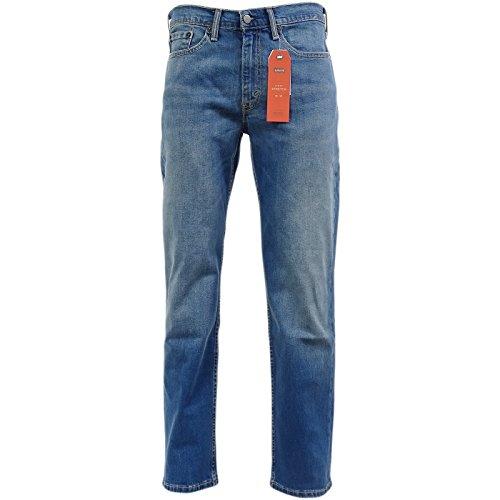 Levi's Herren Jeanshose, Einfarbig blau blau Gr. 36W x 32L, Haggard (514 Jeans)